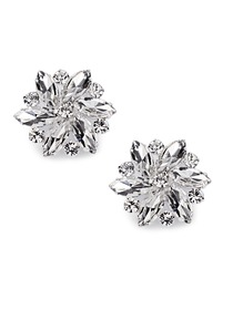 ElegantPark Women Wedding Accessories Rhinestones Crystal Removable Shoe Clips 2Pcs