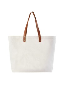 ElegantPark Personalized Tote Bag with Interior Zip Pocket Canvas